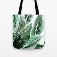 Paradise Leaves Tote Bag