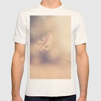 Alone Mens Fitted Tee Natural SMALL