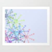 Snow Flakin' Art Print