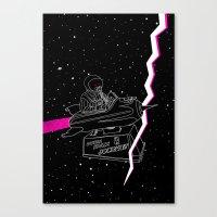 Space Journey Canvas Print