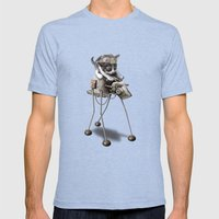 PROTECTOR 2015 Mens Fitted Tee Tri-Blue SMALL
