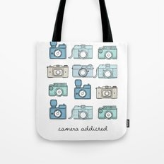 Camera Addicted Tote Bag
