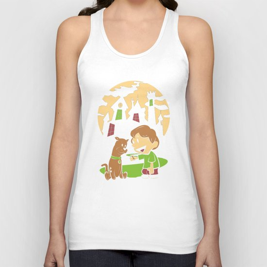 Shaggy n Scoob Unisex Tank Top