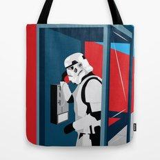 Stormtrooper Phone Home Tote Bag