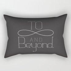 To Infinity... Rectangular Pillow