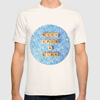 Wish Upon A Star Mens Fitted Tee Natural SMALL