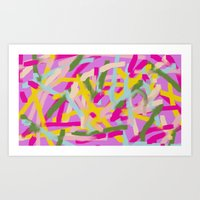 Lines Lines Lines Art Print