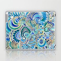 A Snowflake and Angels Wings - a rokinronda Abstract Laptop & iPad Skin
