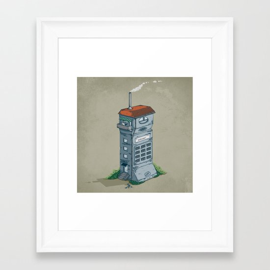 Cordless Home Framed Art Print