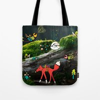 Forest Life Tote Bag