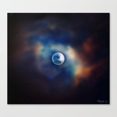 All great and precious things are lonely. Canvas Print
