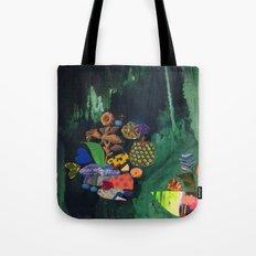 Cave Garden V Tote Bag