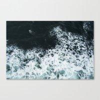 Ocean's glass Canvas Print
