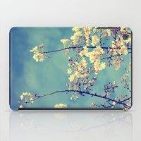 Blossoms On Blue Sky iPad Case
