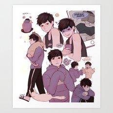 Ichimatsu!! Art Print