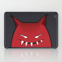 Evil Monster With Pointy Ears iPad Case