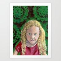 YAEL Art Print