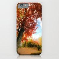 Autumn Tree Scene iPhone 6 Slim Case