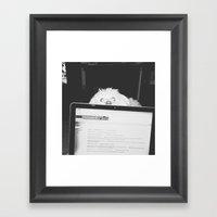 The Witness Framed Art Print