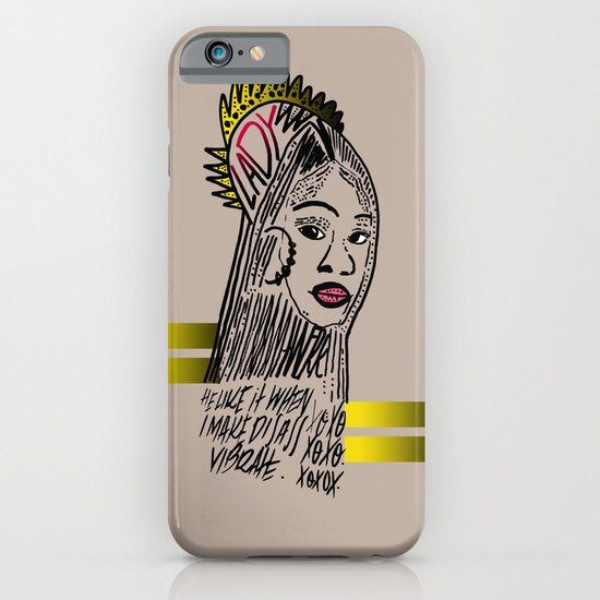 Lady iPhone & iPod Case