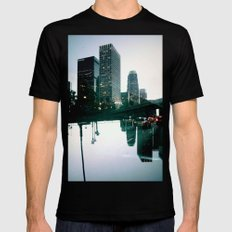 Landscapes (Los Angeles #3) Mens Fitted Tee Black SMALL