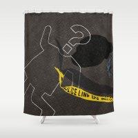 Crime. Question series Shower Curtain