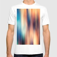 Blur Mens Fitted Tee White SMALL
