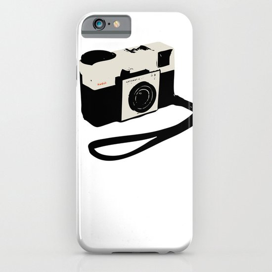 ivory kodak instamatic camera iPhone & iPod Case