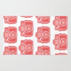 I Still Shoot Film Holga Logo - Red Rug