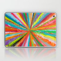 Exploding Rainbow Laptop & iPad Skin