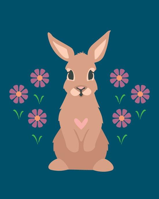 Spring Rabbit Art Print