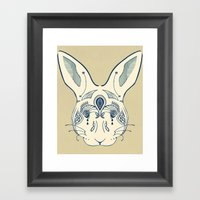 Hare Framed Art Print
