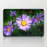 Purple Floral iPad Case