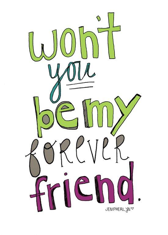 Forever Friend Art Print