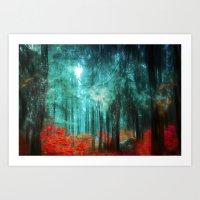 Magicwood Art Print