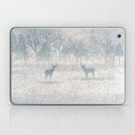 Winter Scenery & Deers Laptop & iPad Skin
