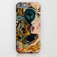 iPhone & iPod Case featuring danae and shower of gold by Agata Kowalska