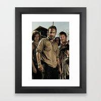 The Walking Dead - The C… Framed Art Print
