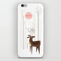 Reindeer Of The Silver W… iPhone & iPod Skin