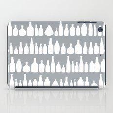 Bottles Grey iPad Case