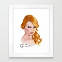 idol Framed Art Print