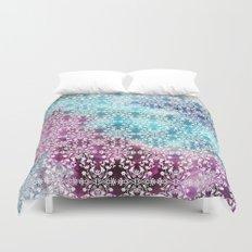 Motif Pattern_rainbow Duvet Cover