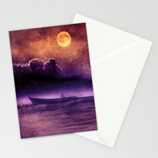purple trip Stationery Cards