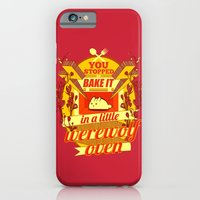 iPhone & iPod Case featuring Little Werewolf Oven by robin