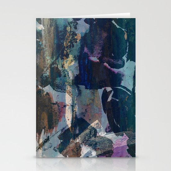 Abstract landscape Stationery Card