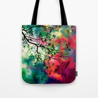The Tree Of Many Colors … Tote Bag