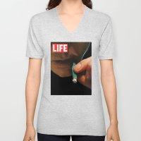 LIFE MAGAZINE: Marijuana Unisex V-Neck