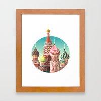 Saint Basil's Cathedral Framed Art Print