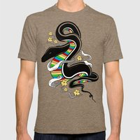 Many Colors Mens Fitted Tee Tri-Coffee SMALL