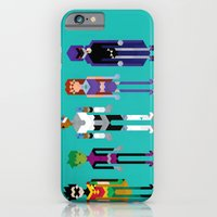 iPhone & iPod Case featuring Teenage Superheroes by LOVEMI DESIGN